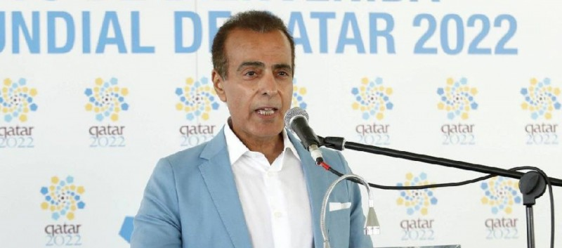 Welcome to the Qatar ambassador in Madrid
